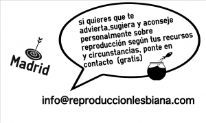 para consultar gratuitamente en el email de www.reproduccionlesbiana.com