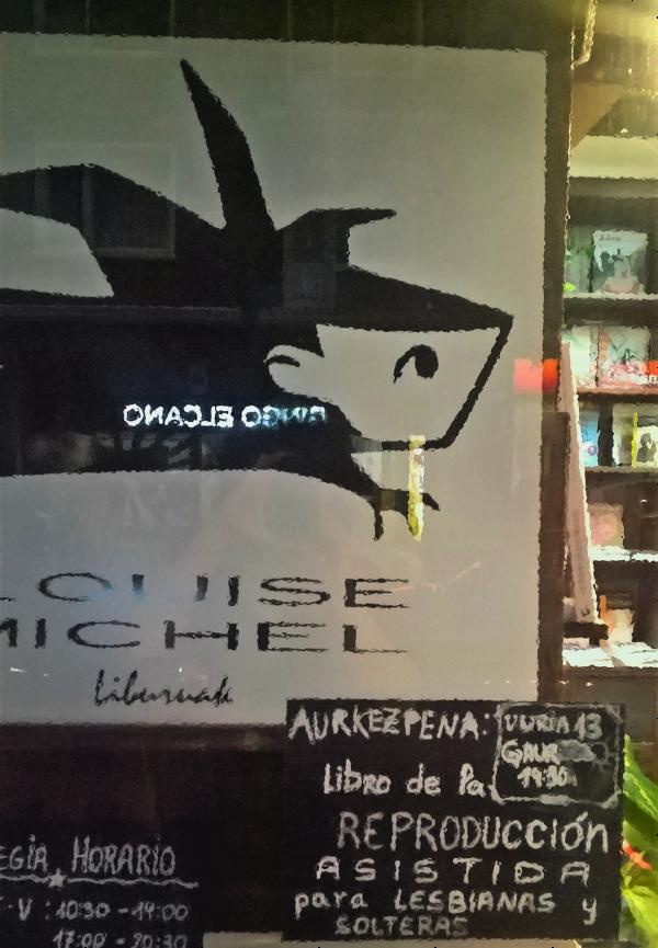 Librería Louise Michel coloquio inseminaciones en casa