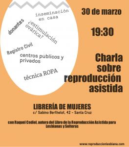Cartel encuentro en la librería de mujeres Raquel Cediel Sáez